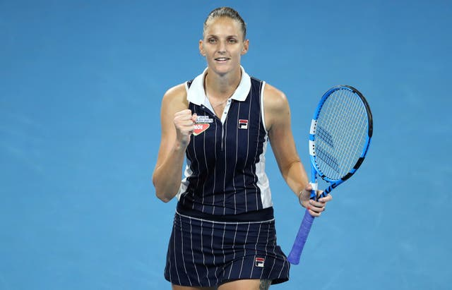 Karolina Pliskova has begun this season in strong form