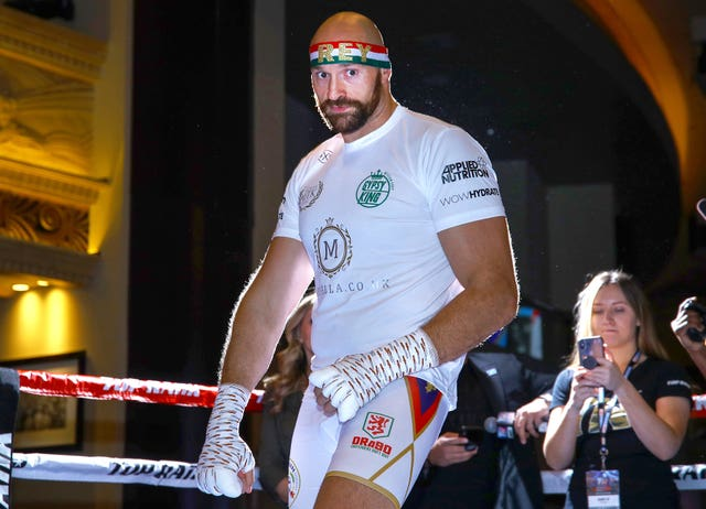 Tyson Fury says he is living a healthier lifestyle