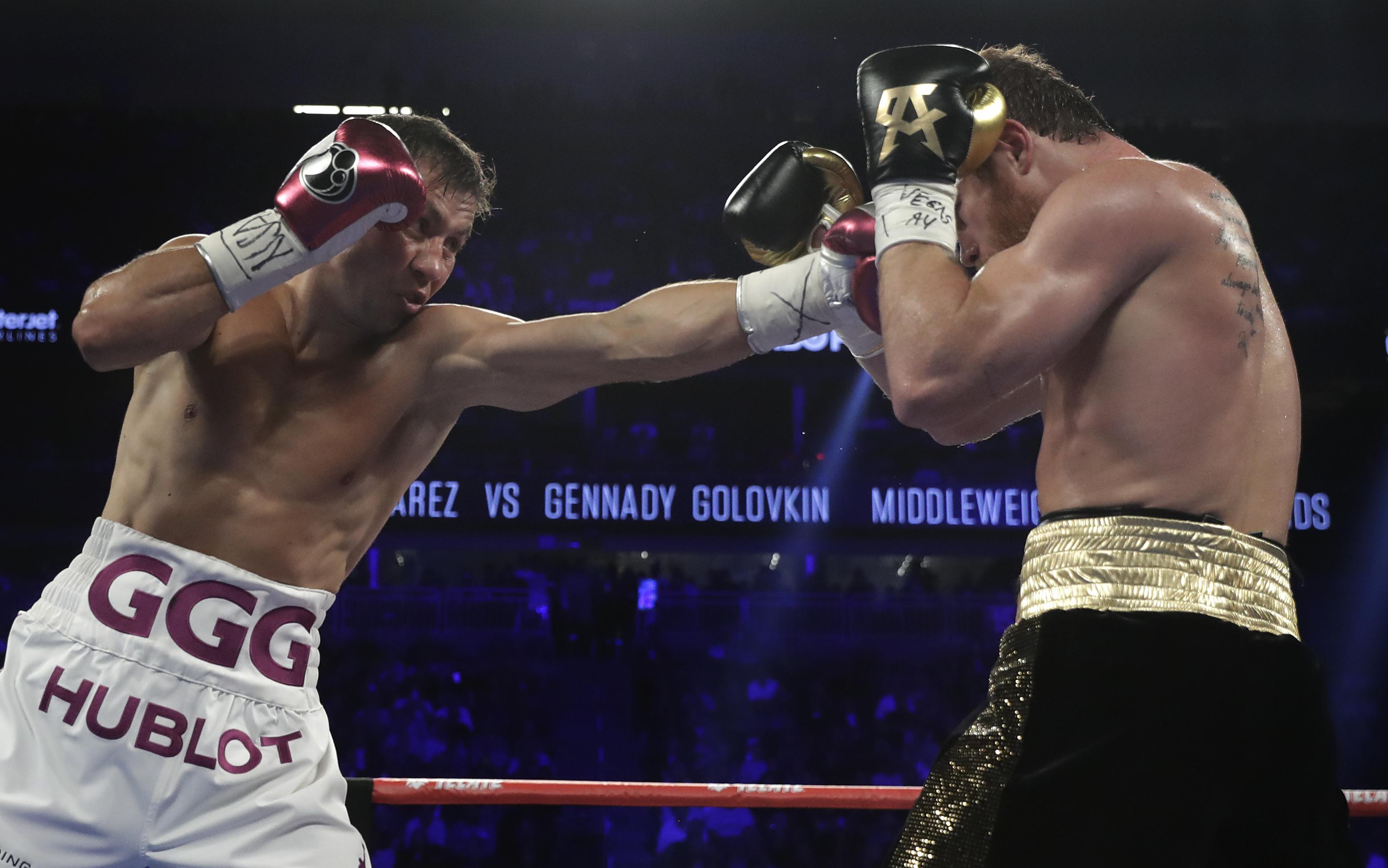 Canelo Golovkin Boxing