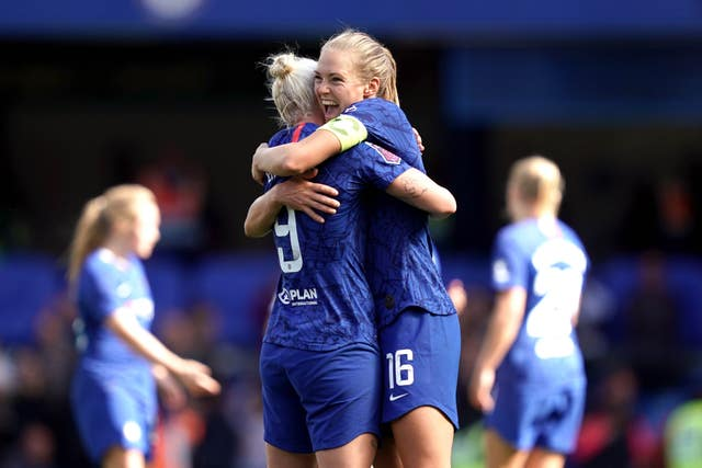 Just over 24,500 fans watched Chelsea get off to a winning start to their campaign against Spurs, with Bethany England scoring in a 1-0 victory