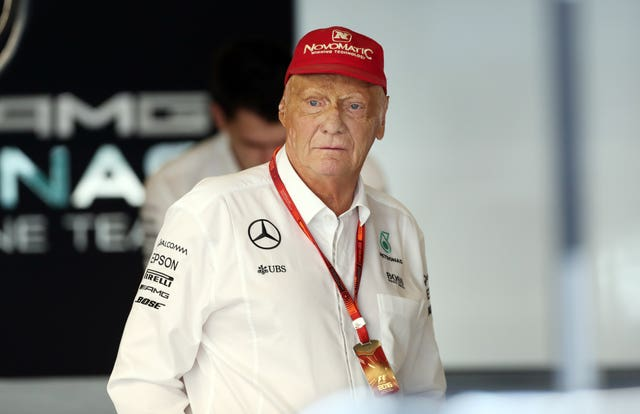 Niki Lauda is on the mend after illness