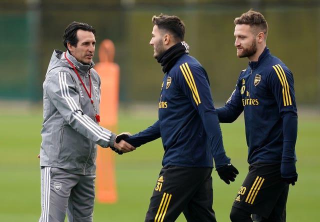 Arsenal Training – London Colney