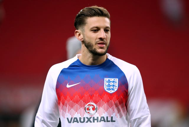 Midfielder Adam Lallana will need to answer doubts about his fitness
