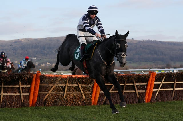 Al Dancer on his way to victory at Cheltenham before Christmas