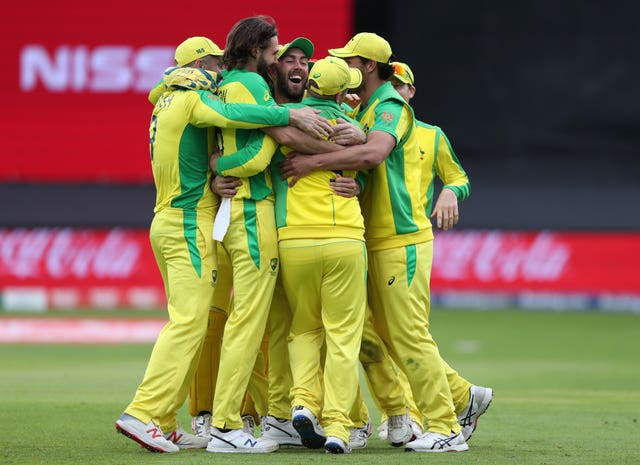 Australia made it three wins from four World Cup games