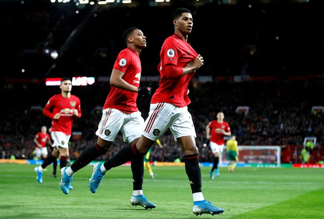Rashford is the third youngest player to reach 200 games for the club