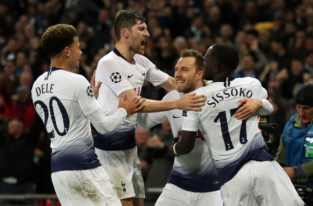 Tottenham's Champions League win over Inter Milan kept their qualification hopes alive