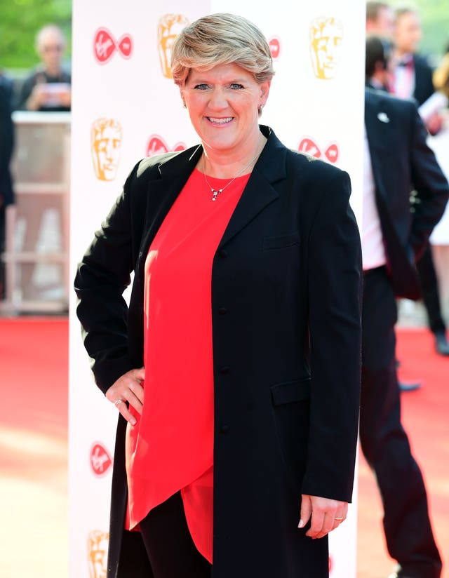 Clare Balding is hosting the Channel 4 broadcast of the event (Ian West/PA)