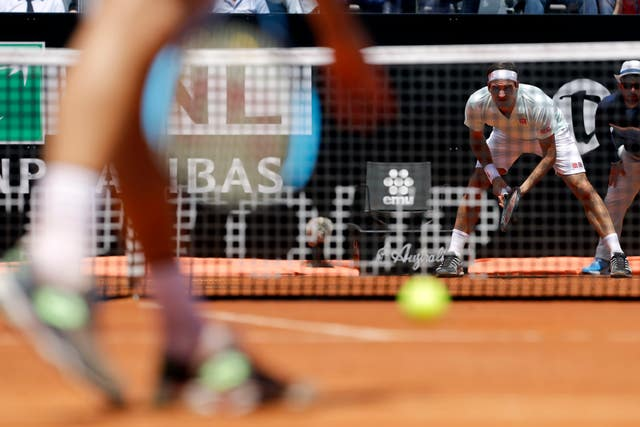Roger Federer has returned to clay-court tennis this year