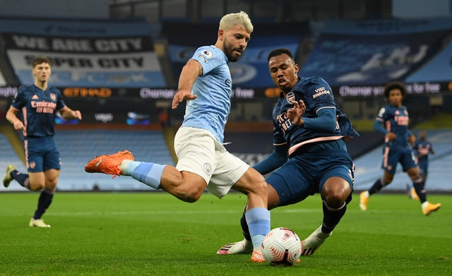 Manchester City 1 - 0 Arsenal: Raheem Sterling strike earns Manchester City narrow victory over Arsenal