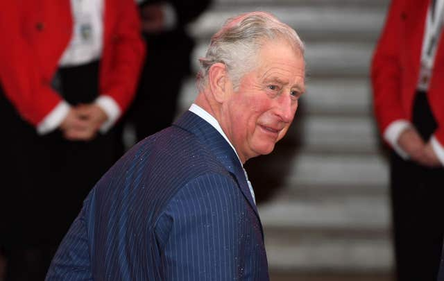 The Prince of Wales attends the Prince's Trust Awards at the London Palladium
