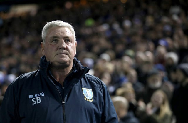 Steve Bruce was appointed by Sheffield Wednesday in January