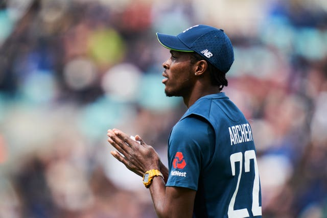Jofra Archer is playing himself into contention for World Cup selection