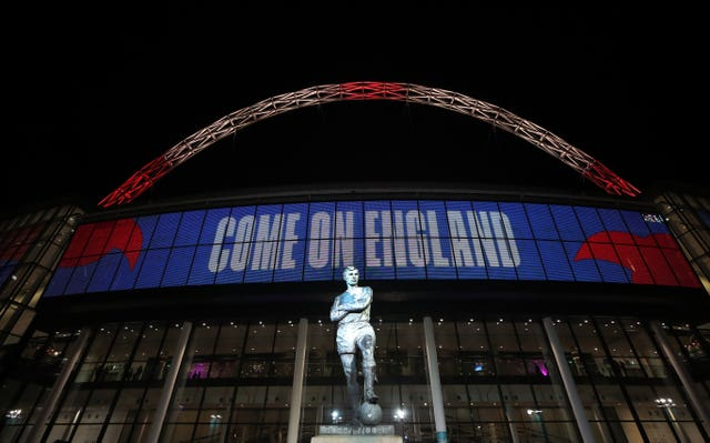 Wembley is still set to host two England football friendlies as things stand later this month