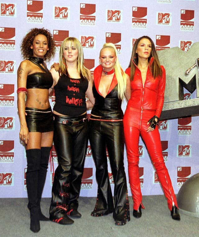 Spice Girls at an awards show