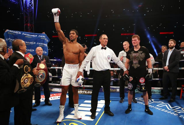 Anthony Joshua was a clinical winner