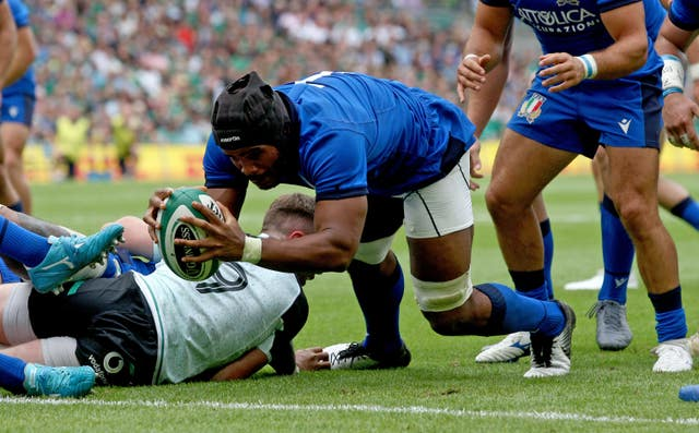 Ireland v Italy – Guinness Summer Series – Aviva Stadium