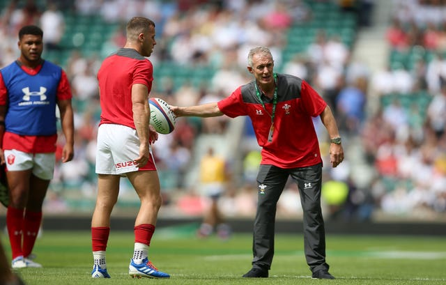 Rob Howley was involved in Wales' World Cup preparations right up until his departure from Japan