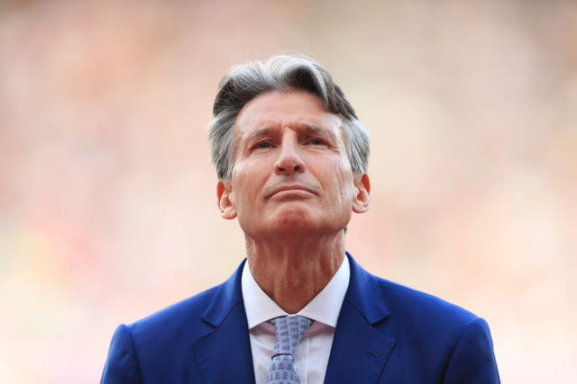 Lord Coe is the president of the IAAF