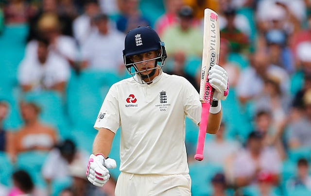 Joe Root hit five half-centuries in England's Ashes campaign, but no centuries