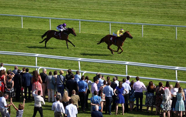 Sea of Class beats Athena at Newbury, who has since come out and won a Grade One