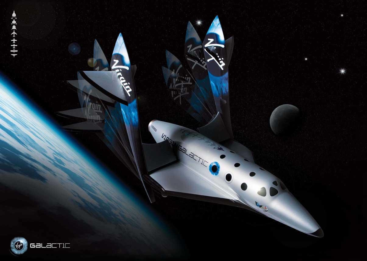 Virgin space tourist carrier