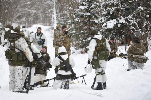 British troops in Estonia
