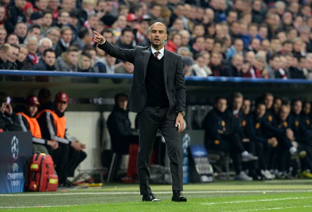 Guardiola's time at Bayern Munich was considered disappointing due to lack of Champions League success
