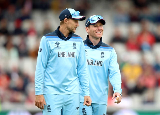 Joe Root (left) believes the England skipper leads the way for his side.