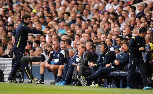 Mauricio Pochettino and Harry Redknapp have clashed as managers