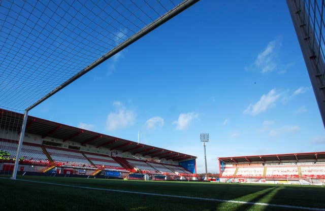 Hamilton Academical v Rangers – William Hill Scottish Cup – Fifth Round – Fountain of Youth Stadium