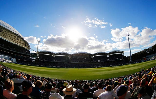 A general view during day three of the Ashes Test match at the Adelaide Oval, Adelaide.