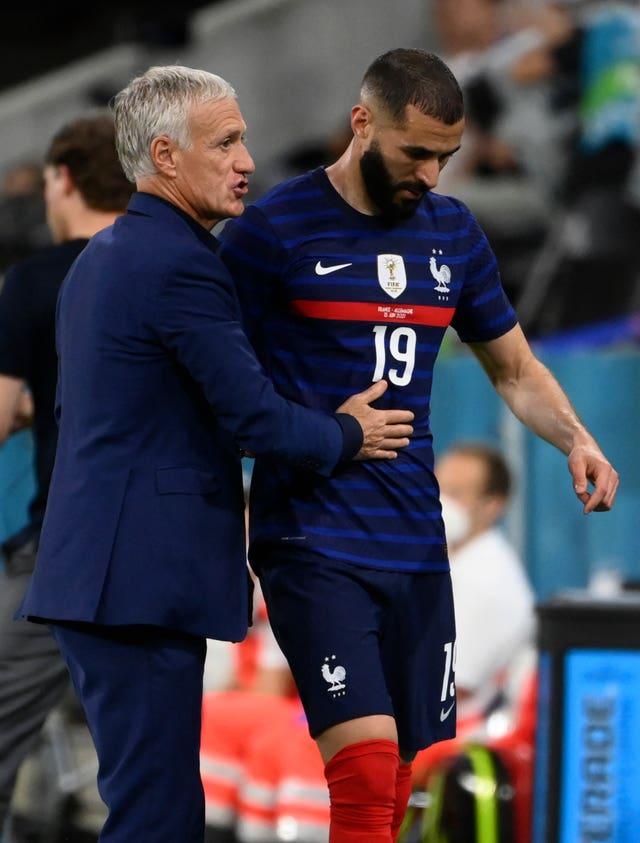 France coach Didier Deschamps has 'every faith' in recalled Karim Benzema