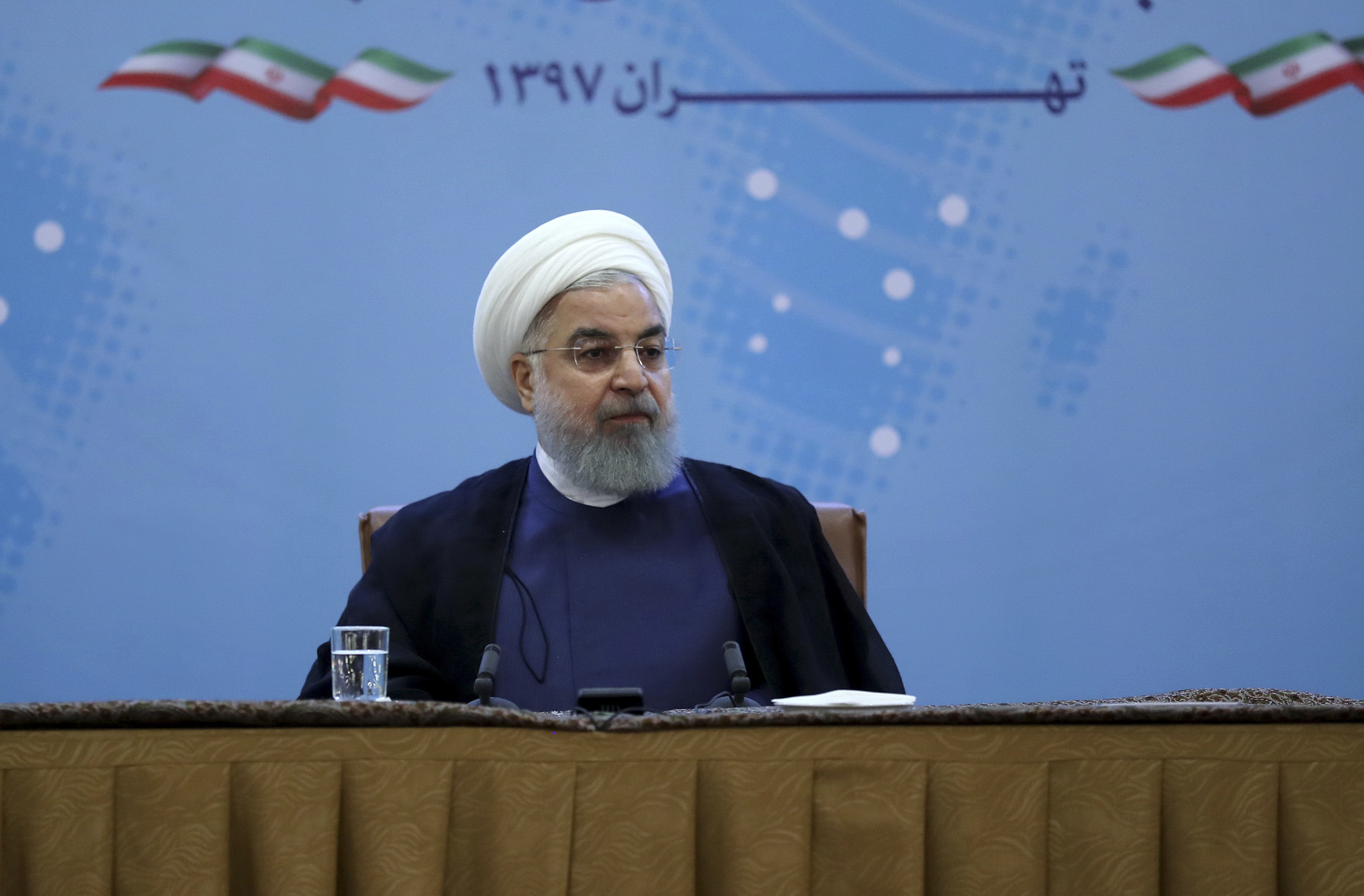 Trump says he would meet Iran's leader without preconditions