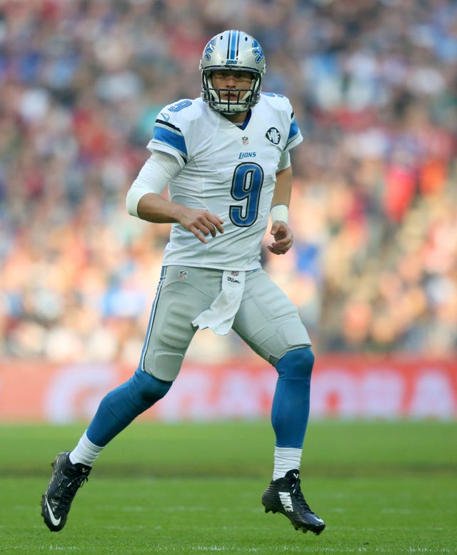 Matthew Stafford has spent his entire NFL career in Detroit