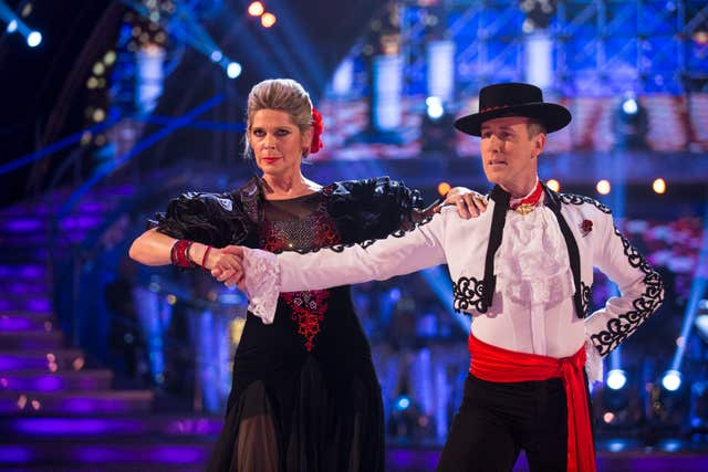 Anton Du Beke and Ruth Langsford