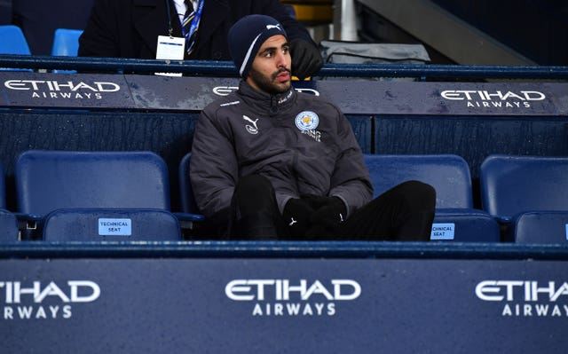 Leicester are stronger with returning Riyad Mahrez – boss Claude Puel