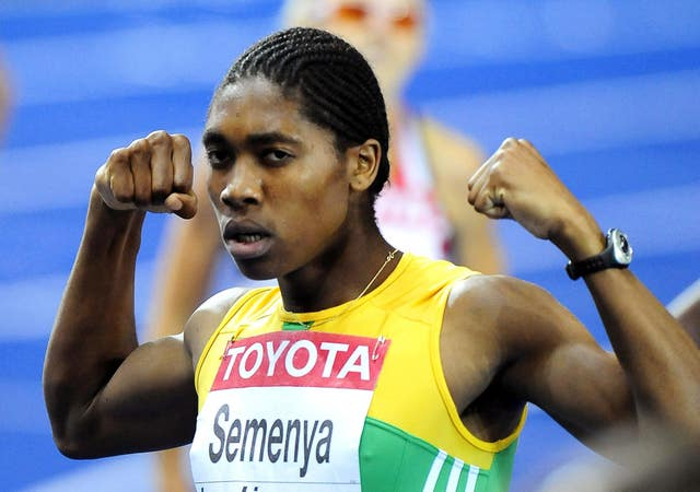 Caster Semenya announced her arrival on the world stage in Berlin in 2009 at the age of 18