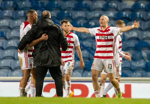 Rangers v Hamilton Academical – Ladbrokes Scottish Premiership – Ibrox Stadium