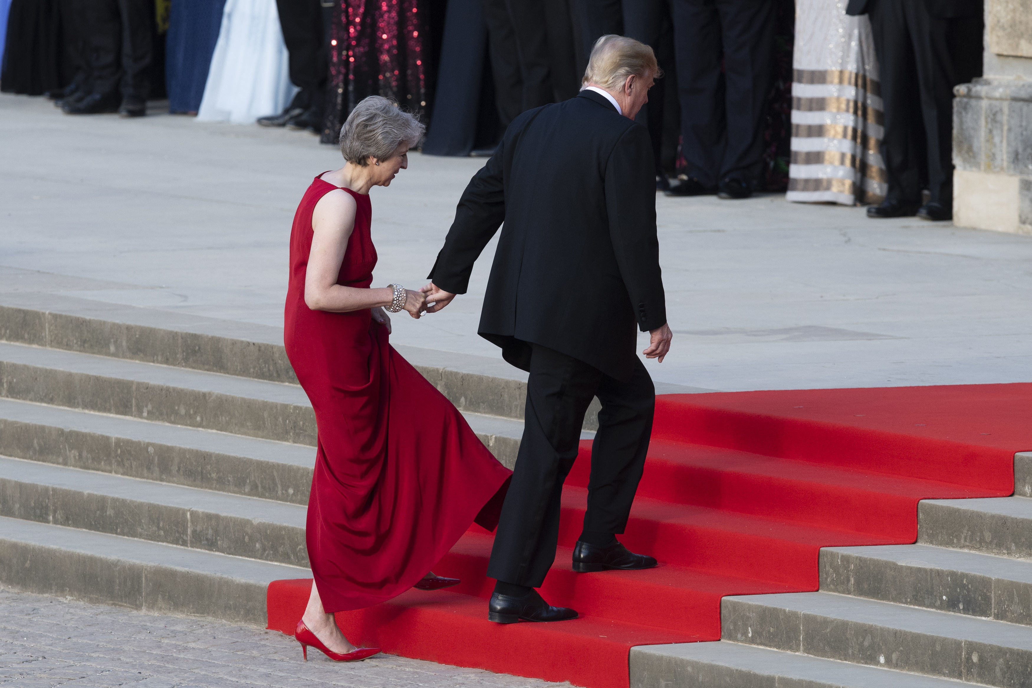 Donald Trump's kind-of, sort-of apology to Theresa May