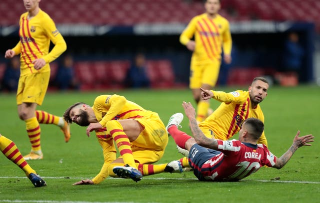 Barcelona stuck in 10th after Marc-Andre Ter Stegen mistake aids Atletico Madrid