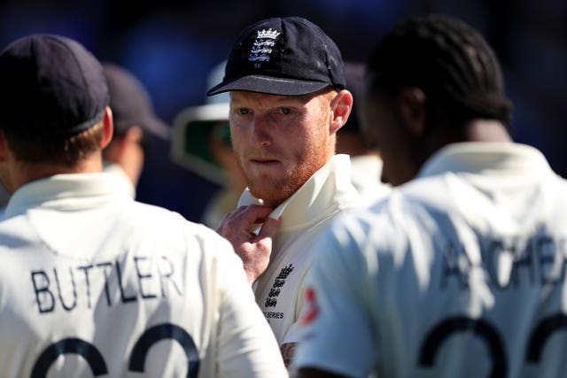Stokes (centre) will get some captaincy experience in this week's squad match.