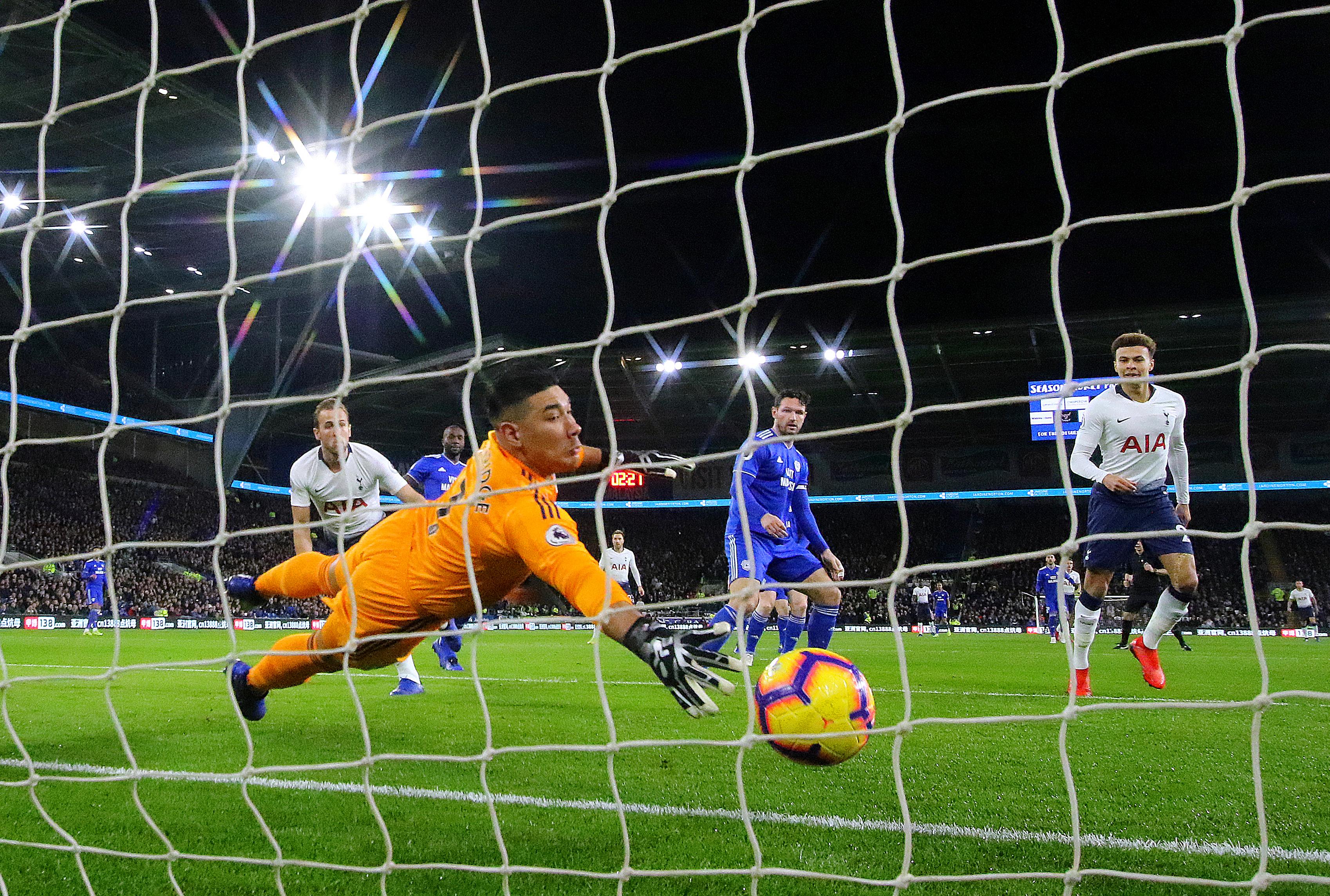 Harry Kane opened the scoring