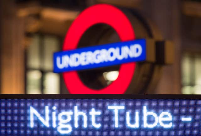 Night Tube drivers strike