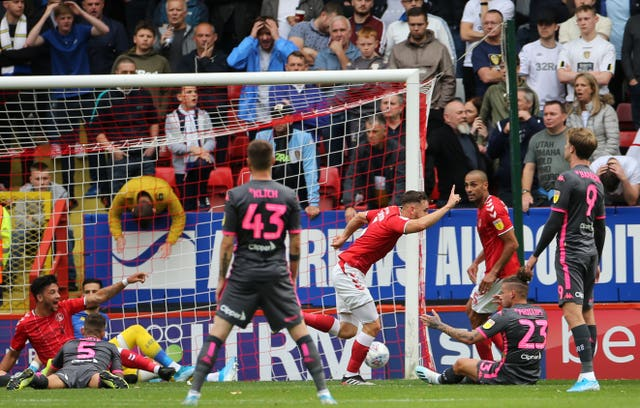 Charlton upset Leeds 1-0 at the Valley