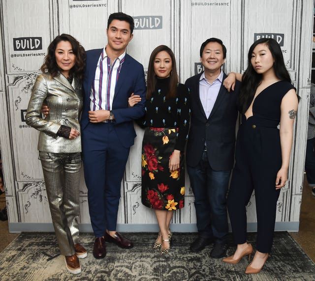 The Crazy Rich Asians cast