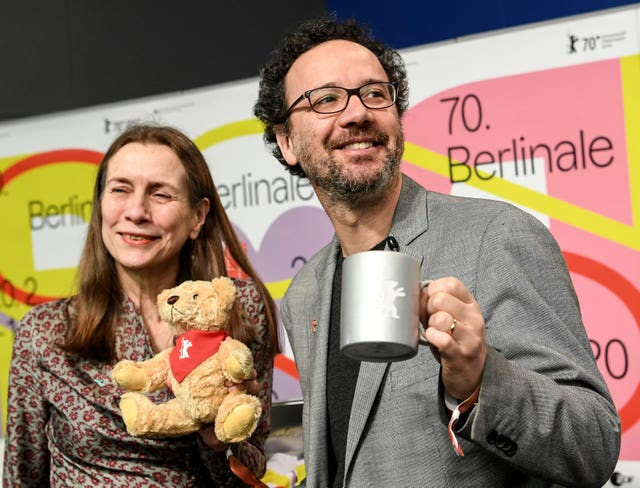 The directors of the Berlinale film festival, Mariette Rissenbeek and Carlo Chatrian