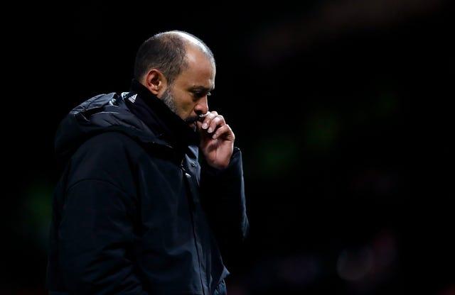 Nuno Espirito Santo was pleased with his side's performance despite defeat