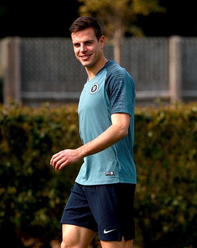 Cesar Azpilicueta is ready to play at centre back for Chelsea