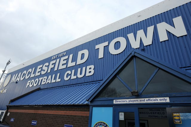 Macclesfield Town File Photo